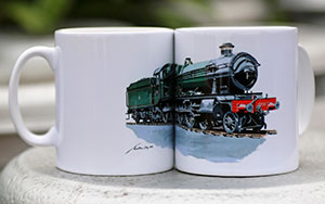 Mugs bearing Jonathan Clay's new image of 4930